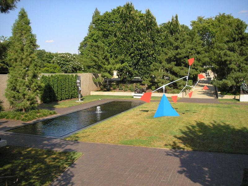 Modern Outdoor Sculpture Garden, Hirshhorn Museum