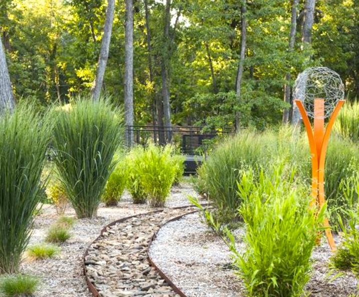 Tempest by Terra Sculpture - Arkansas Garden