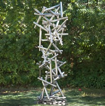 modern abstract contemporary outdoor garden sculpture