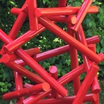 modern contemporary abstract outdoor sculpture