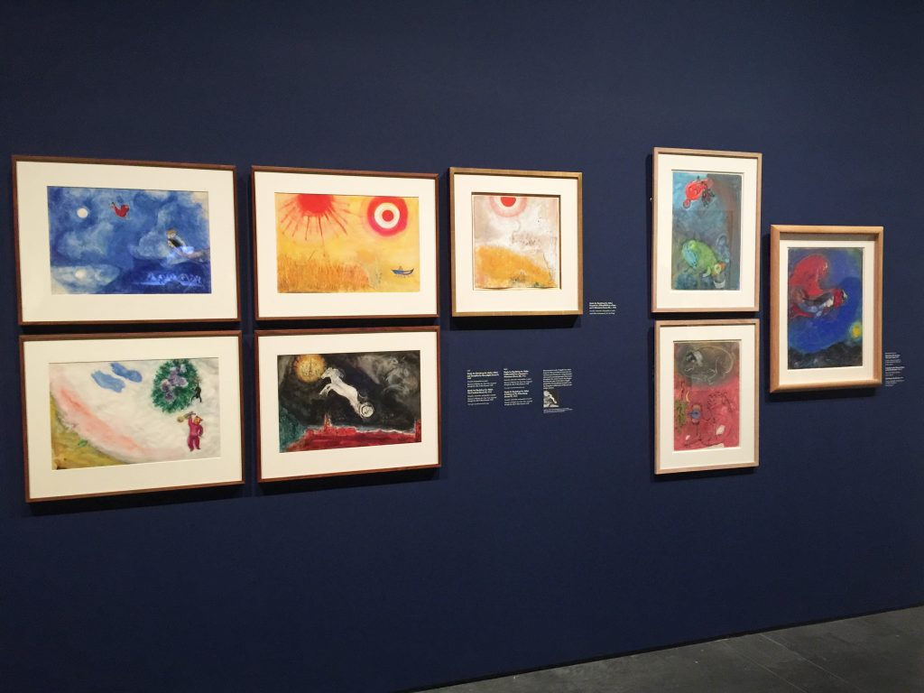 Marc Chagall Aleko set degisn
