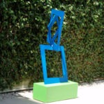 Closer - Powercoated Steel Outdoor Art Sculptures | TerraSculpture