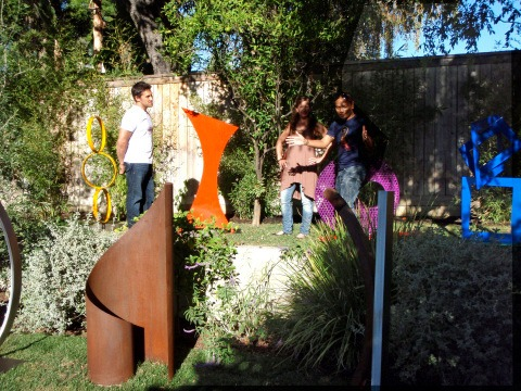 Snapshots: Hgtv Shoot @ Terra Sculpture