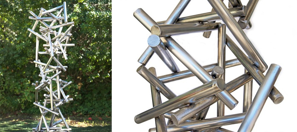 Gravity - Stainless Steel Outdoor Art Sculptures | TerraSculpture