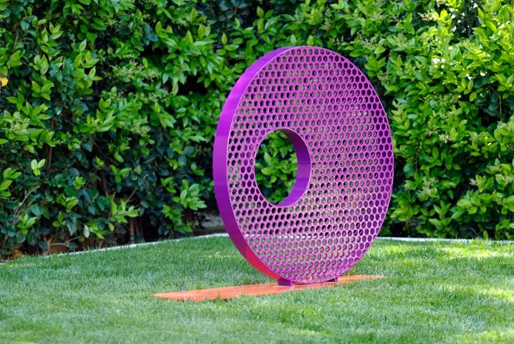 modern abstract art contemporary outdoor garden sculpture