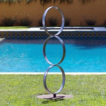 Sisters - Stainless Steel Outdoor Art Sculptures | TerraSculpture