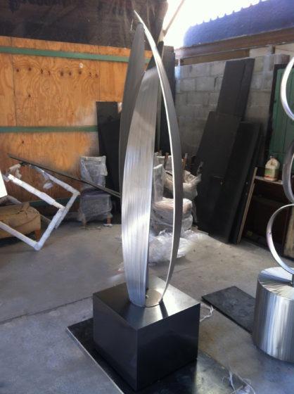 Flight Stainless Steel Modern Abstract Outdoor Sculpture E