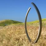 Modern Outdoor Sculpture Gallery Terrasculpture Embrace Stainless Steel Sculpture E