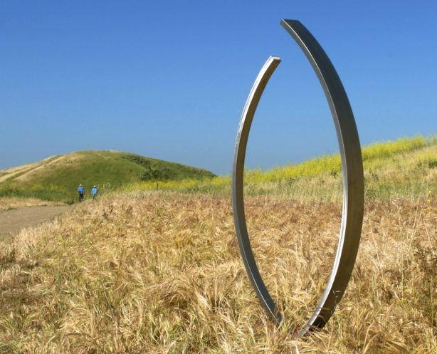 Modern Outdoor Sculpture Gallery Terrasculpture Embrace Stainless Steel Sculpture E