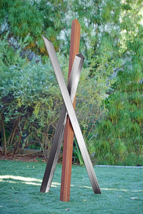modern abstract contemporary outdoor sculpture