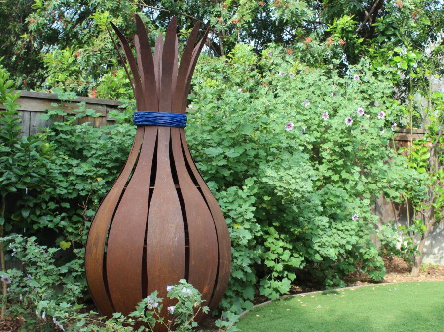 Joy Modern Metal Garden Sculpture By Terra Sculpture