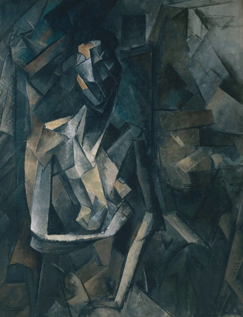 Seated Nude 1909-10 Pablo Picasso 1881-1973 http://www.tate.org.uk/art/work/N05904