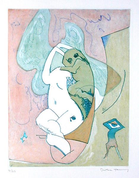 Dorothea Tanning Etched Murmurs, surrealist