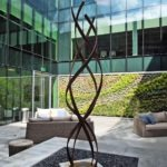 Modern Asbtract Sculpture Terra Sculpture Beverly Hills