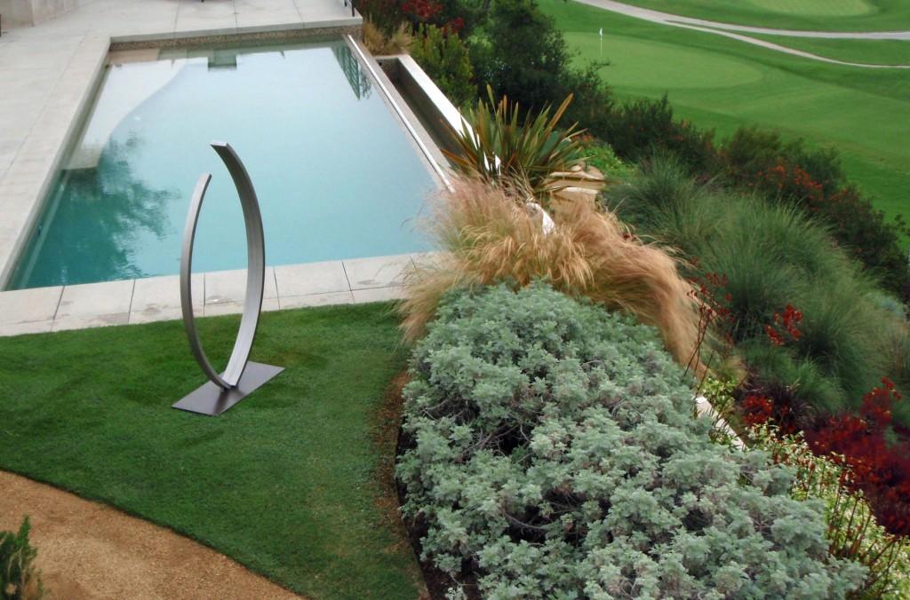 modern outdoor sculpture