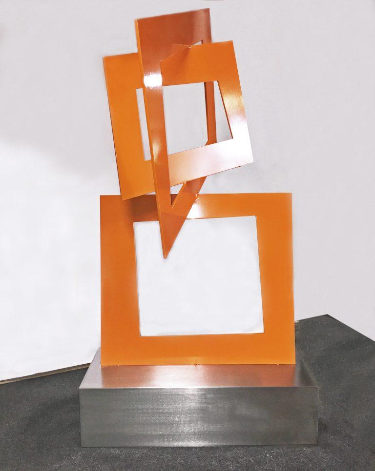 Terra Sculpture modern outdoor sculpture