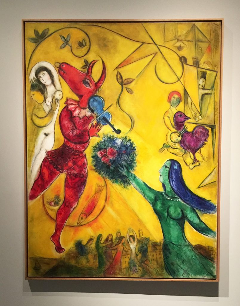 LACMA The Dance Chagall modern abstract sculpture painting