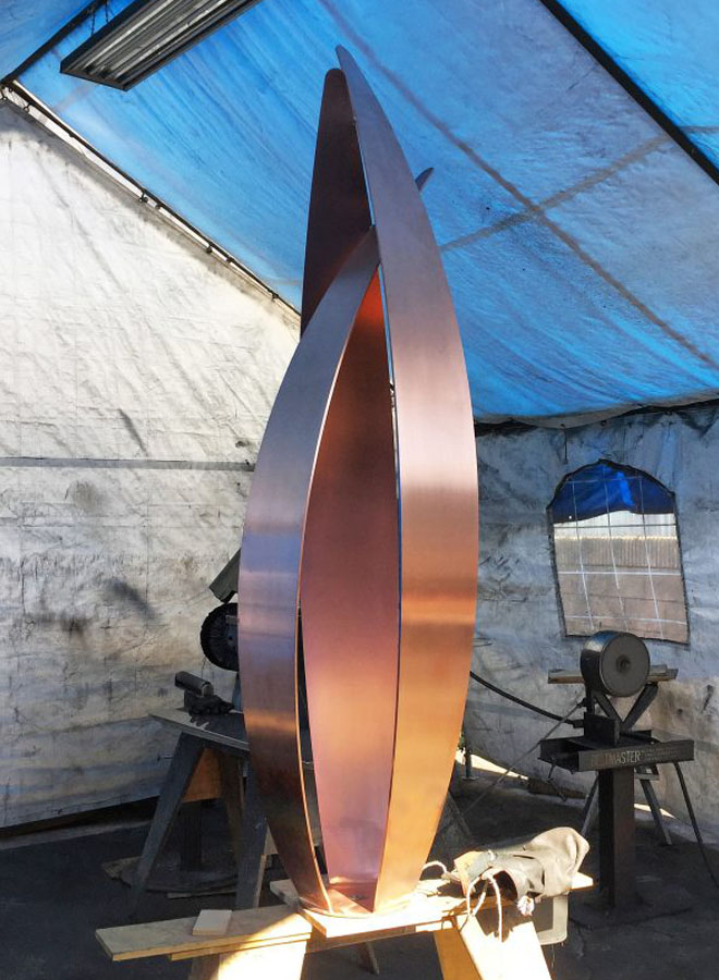 flight special commission sculpture