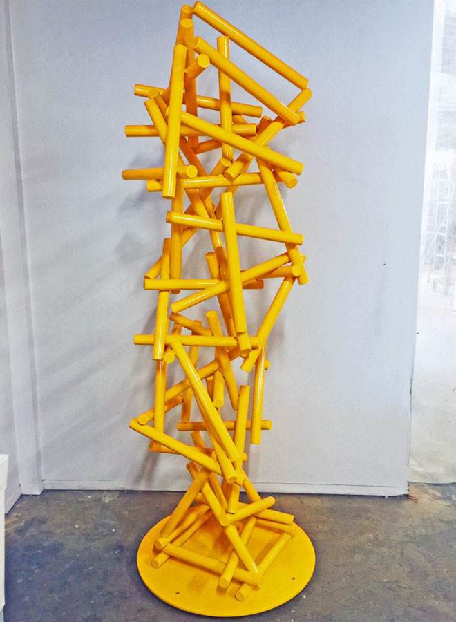 gravity special commission sculpture
